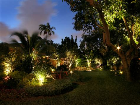 Landscape Lighting Tropical Landscape Miami By Tropical Outdoor Lighting