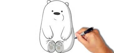 draw paint ice bear 1 minute 171 drawing amp illustration