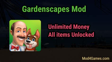 Gardenscapes Unlimited Gardenscapes Mod Unlimited Money All Items Unlocked