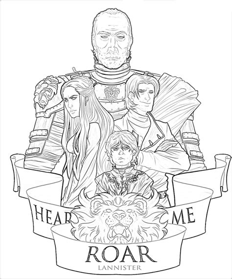 thrones coloring book filled in coloring pages az coloring pages