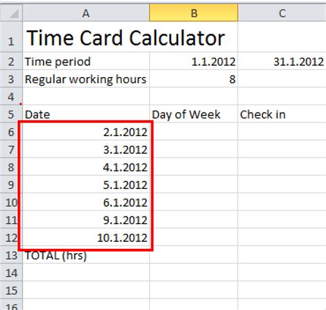 excel time card calculator template time card calculator template 28 images time card