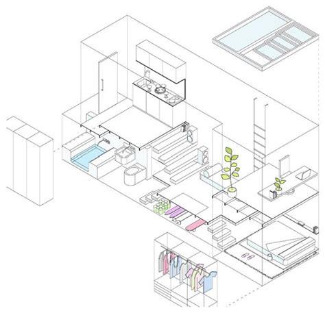 gestaltung schlafzimmer 4481 houzzbesuch eine nur 2 10 meter breite wohnung in madrid