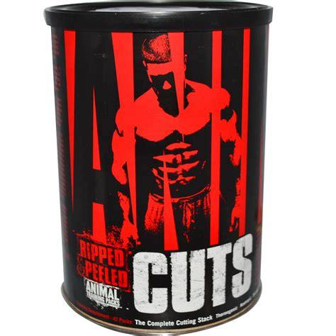 supplement packs universal nutrition animal cuts ripped peeled