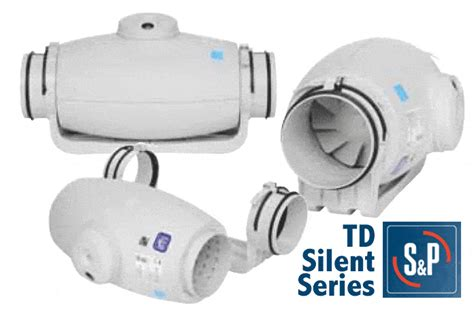 Td Silent 250 Bathroom Extractor Fan Kit S P Soler Palau Ventilation Soler Palau Bathroom