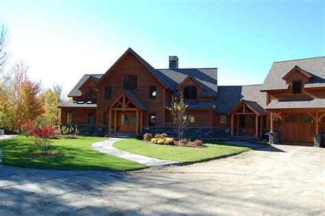 vermont home design ideas vermont timber frame home in vermont mountains designs