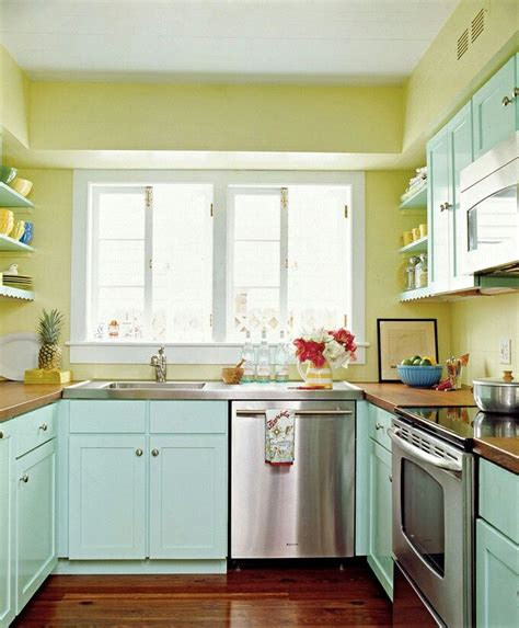 kitchen home white walls bright colors pinterest