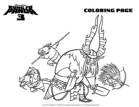 kung fu panda 3 characters coloring pages kung fu panda 3 free coloring pages