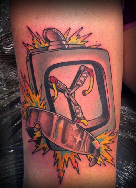 flux capacitor tattoo flux capacitor tattoos random