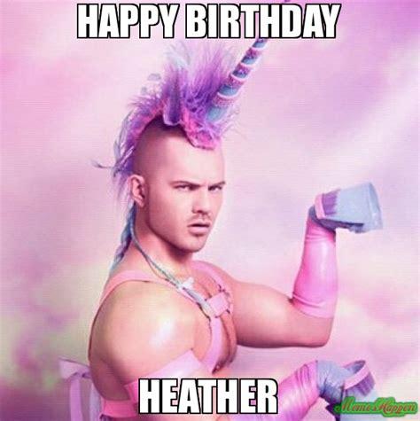 Gay Unicorn Meme - happy birthday lesley hope it s as fabulous as this guy