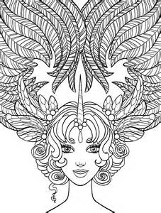 photo gallery of crazy hair coloring pages at best all