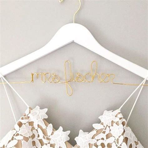 Wedding Dress Hanger   Foxblossom Co.