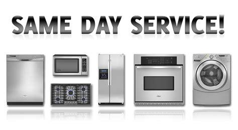 kitchen appliance repair maintenance services refrigerators parts same day appliance repair