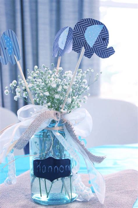 Baby Shower Centerpiece For Boy by 25 Best Ideas About Baby Shower Centerpieces On Baby Shower Table Decorations Baby