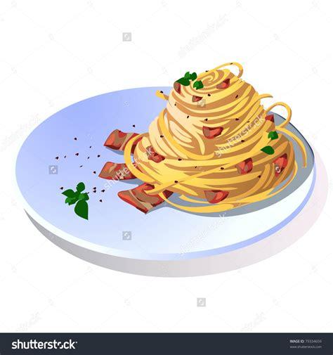 Pasta Clipart Spaghetti Carbonara Clipart Clipground
