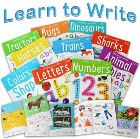 Numbers Learn To Write Wipe Clean Activity Book wipe clean learn to write 10 books collection set for children letters numbers 9781848106291