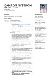 Principal Resume Samples Assistant Principal Resume Samples Visualcv Resume