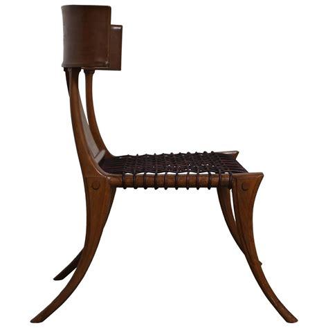 klismos chairs robsjohn gibbings klismos chair for saridis at 1stdibs