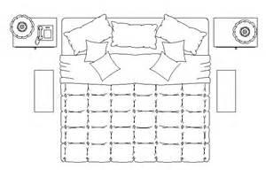 King Size Bed Cad Block Bloques Cad Autocad Arquitectura Download 2d 3d Dwg