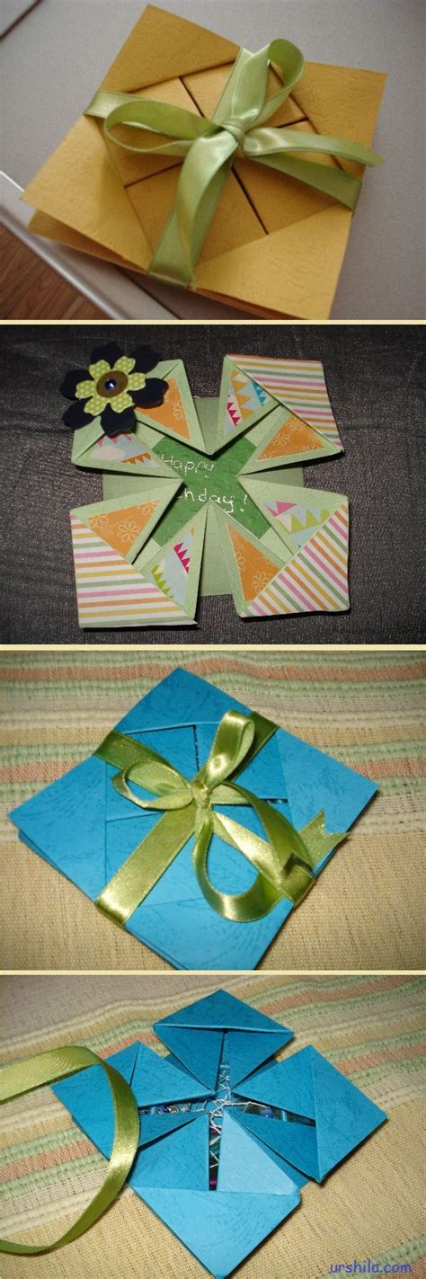 Paper Folding Techniques For Cards - 1000 images about card folds and shapes on