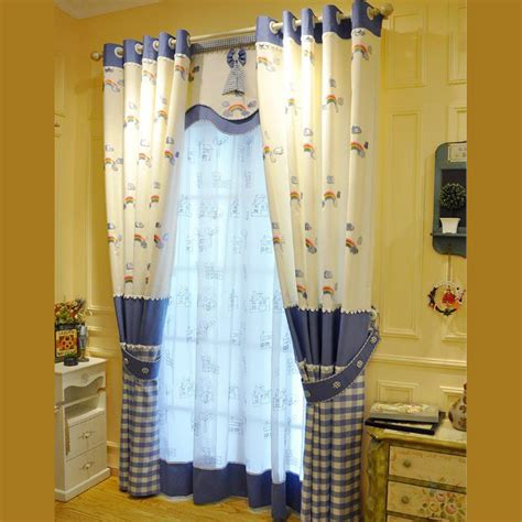 navy blue and yellow curtains navy blue and light yellow polyester embroidery plaid