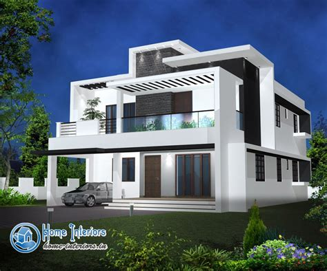 kerala home design double floor double floor modern style home design 2015