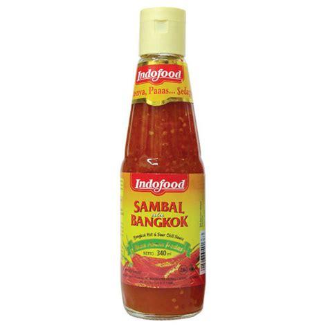 Sambal Balado Indofood hypermart indofood sambal bangkok 340 ml