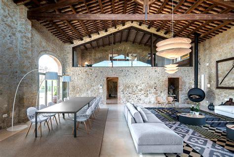 stunning restoration house design ideas the villa monja house with historic spirit restored by gloria duran