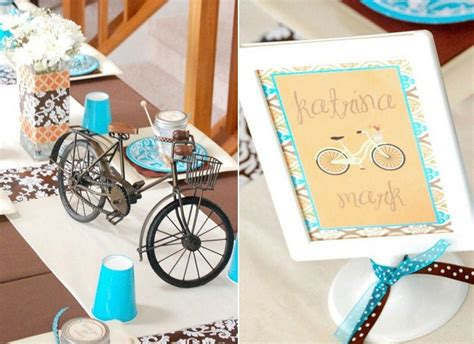 bicycle themed home decor centerpieces ideas bicycles centerpieces bicycles shower bridal shower ideas bicycles built