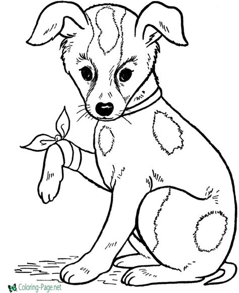 dog coloring pages games printable dog coloring pages