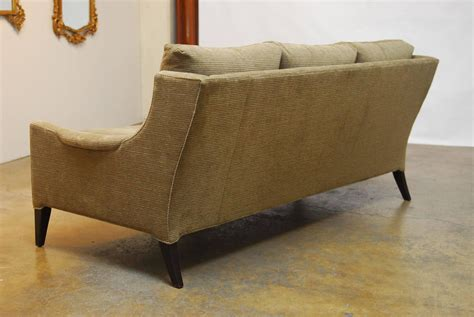 mid century modern style sofa mid century modern style sofa by kravet for sale at 1stdibs