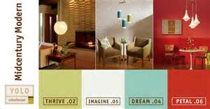 contemporary color scheme mad for mid century yolo mid century modern color palette