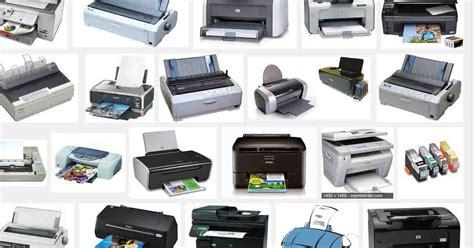 Jenis Dan Printer Dtg mengenal jenis jenis printer dan fungsinya printer