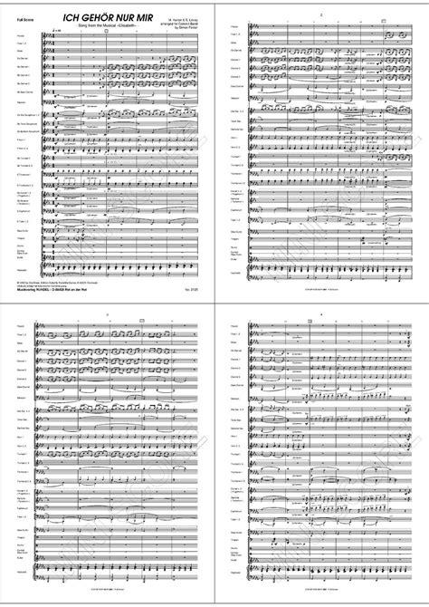 Noten Ich gehör nur mir (Blasorchester) kaufen | Blasmusik