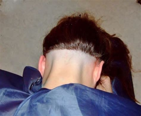 shaved napes shaved nape 21 3 short hairstyle 2013