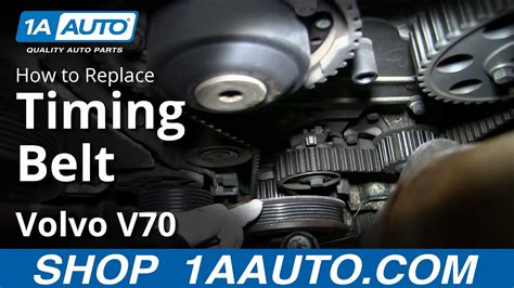 replace timing belt   volvo  youtube