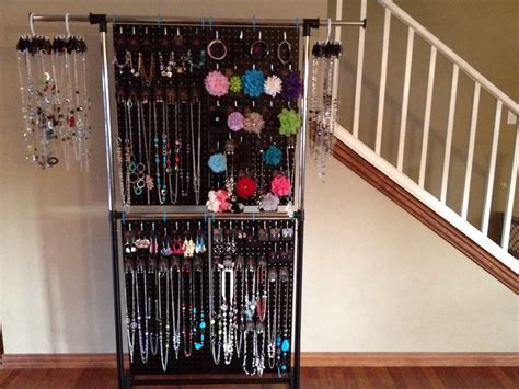 make your own jewelry display make your own pegboard jewelry display 2017 including