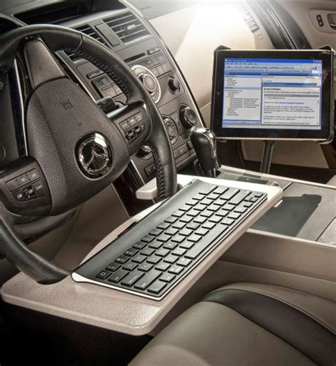 mobile computer desk for car 25 best ideas about tablet mount on
