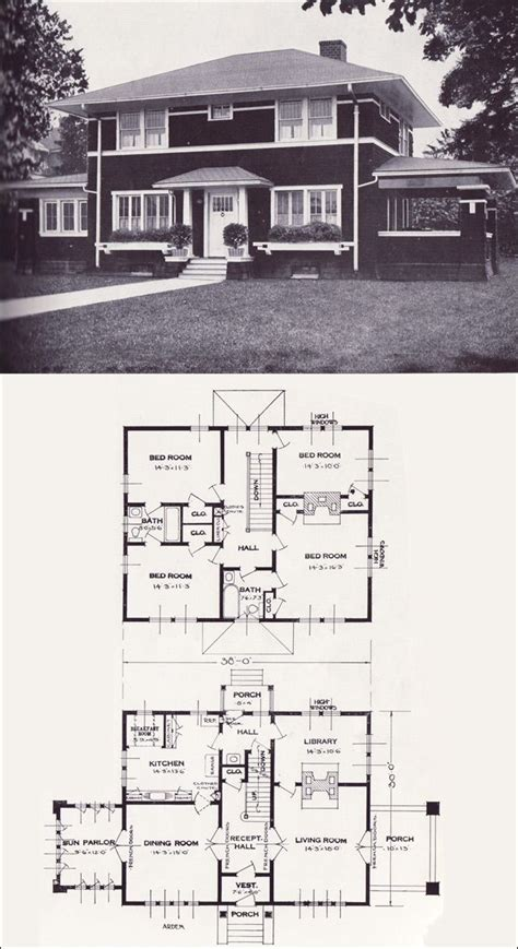 vintage home plans 25 best ideas about prairie style houses on
