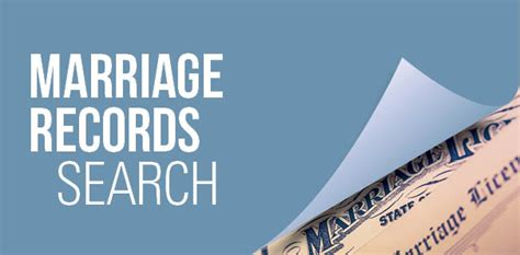 Marriage Records Search Marriage Licenses