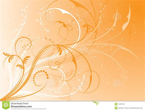 background design elements abstract floral background elements for design vector