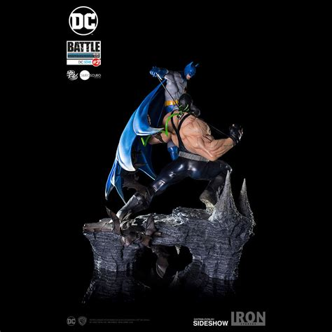 Batman Bane batman vs bane diorama