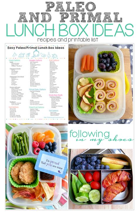 printable healthy dinner recipes finally paleo and primal school lunch ideas and printable
