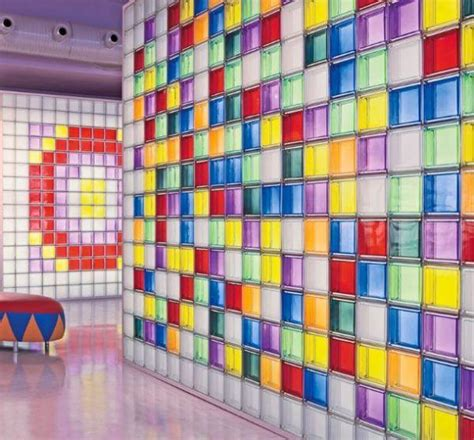 mattoni in vetro per interni mattoni di vetro