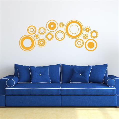 Retro Wall Stickers retro discs wall sticker wall art com