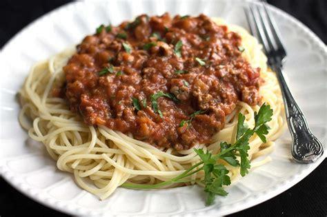 Spghetti Bolognese easy spaghetti bolognese erren s kitchen
