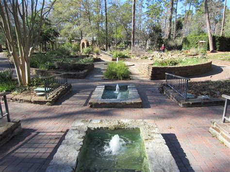 Awesome Gardens In Houston #2: Mercer_Arboretum%2C_2012%2C_fountains.JPG
