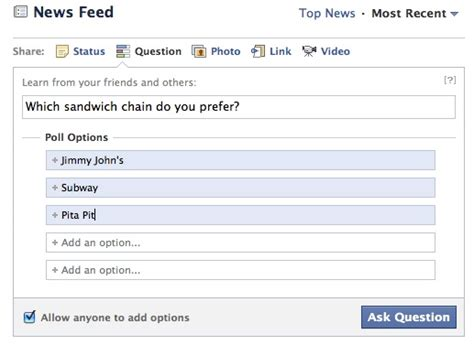 fb questions to ask facebook questions hands on pcworld