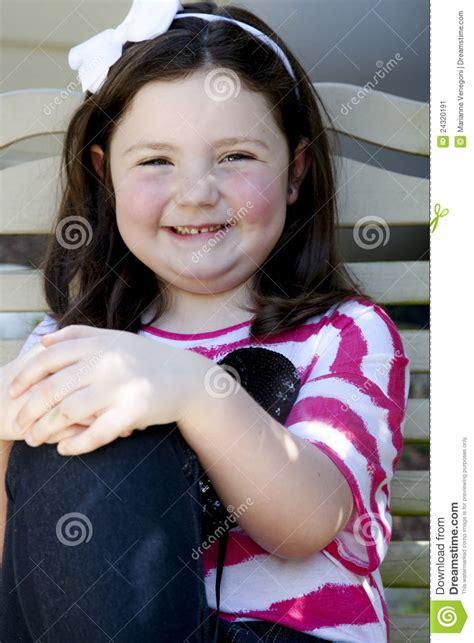 girl  big smile stock image image