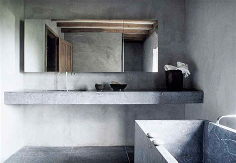 Vintage Bathtubs 20 Awesome Concrete Bathroom Designs Decoholic