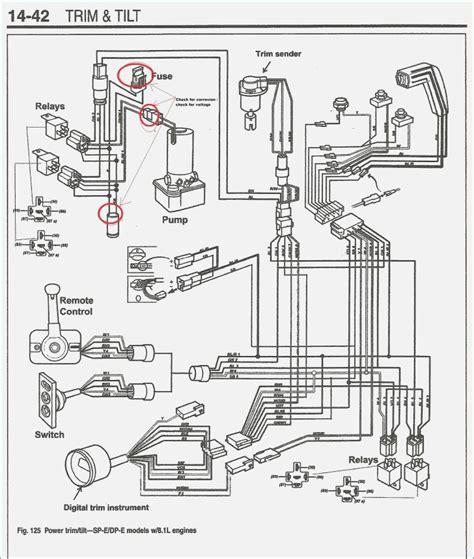volvo penta trim wiring diagram wiring diagram